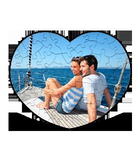 Zamilované puzzle srdce