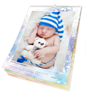 Kalendář nástěnný měsíční 2018